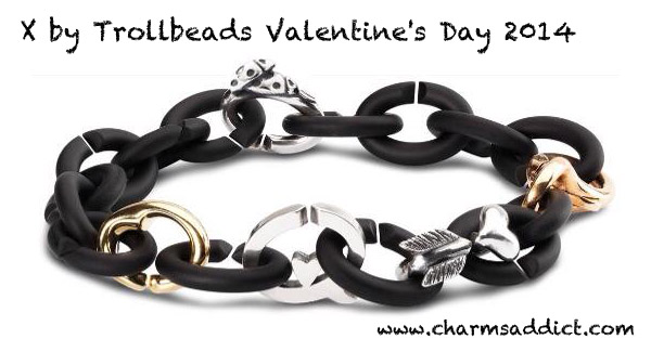 X by Trollbeads Valentine's Day 2014 First Look