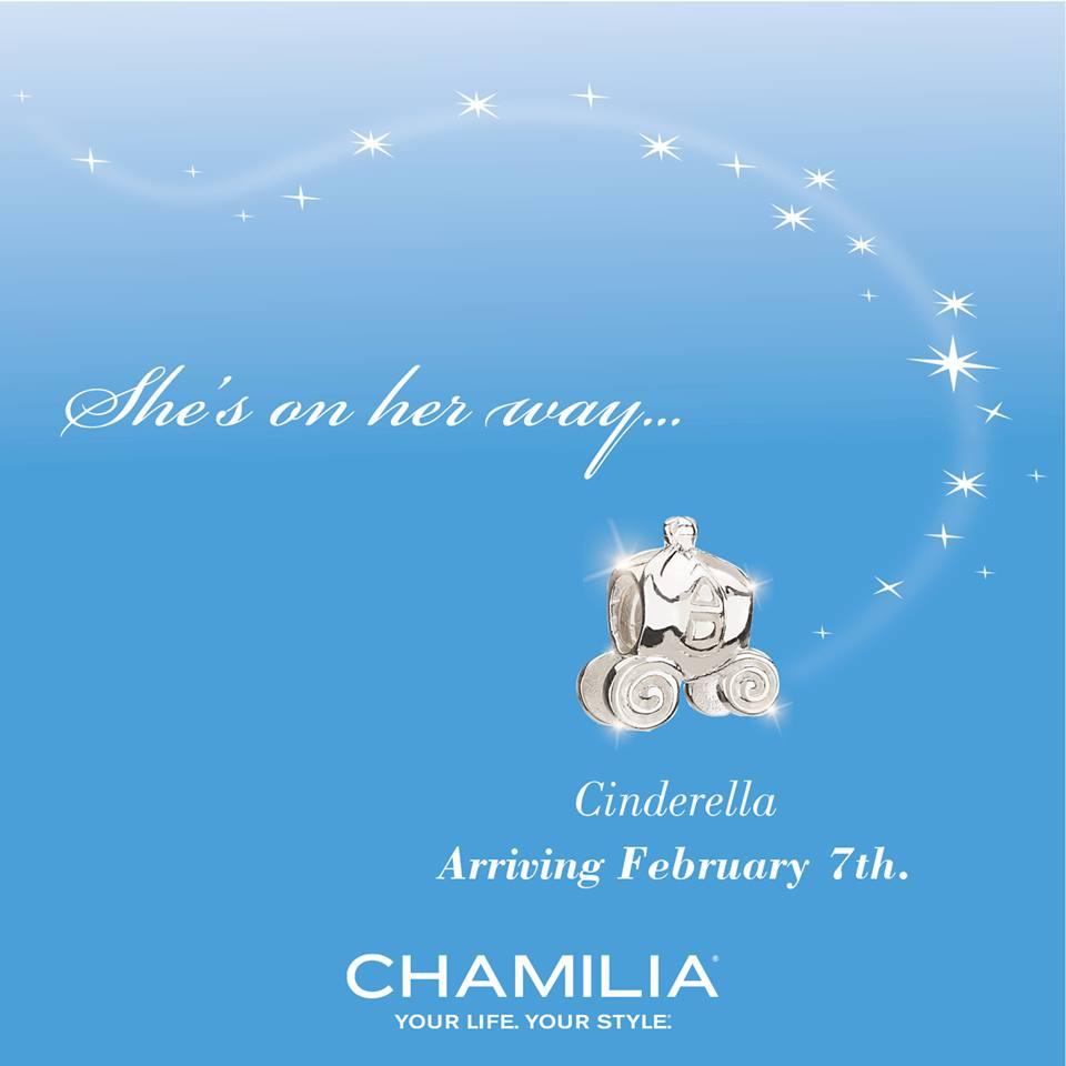 Chamilia Disney Princess Collection – Cinderella Released
