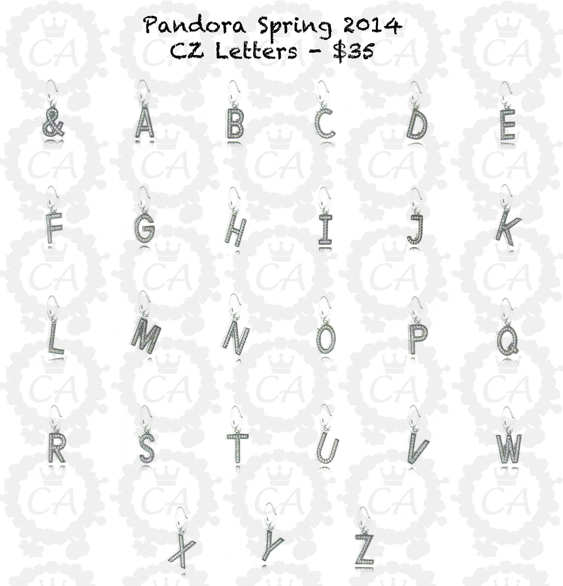 Pandora Spring 2014 Collection Prices