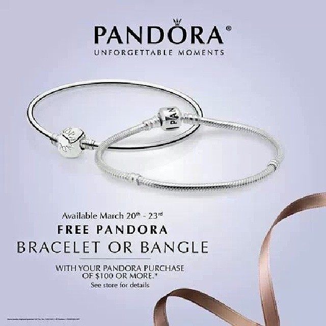 Pandora charms discount coupons
