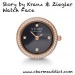 story-by-kranz-ziegler-rose-gold-round-watch-black