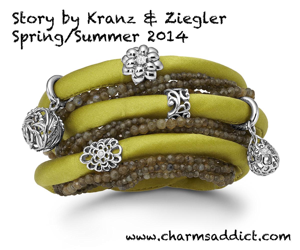 Story by Kranz & Ziegler Silk Bracelets