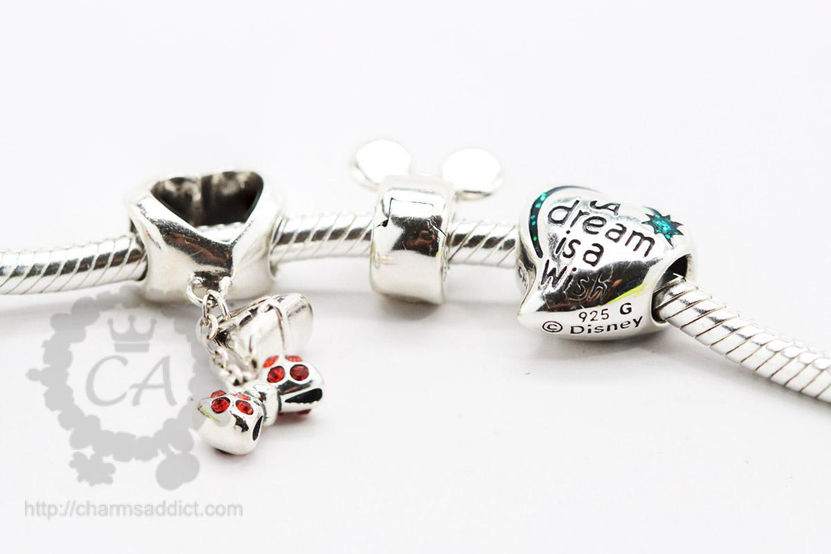 Official disney pandora bracelet charms