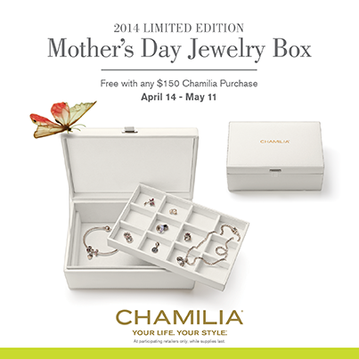 Chamilia Mother's Day 2014 Promotions