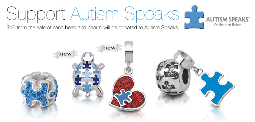 Persona Autism Speaks Charms