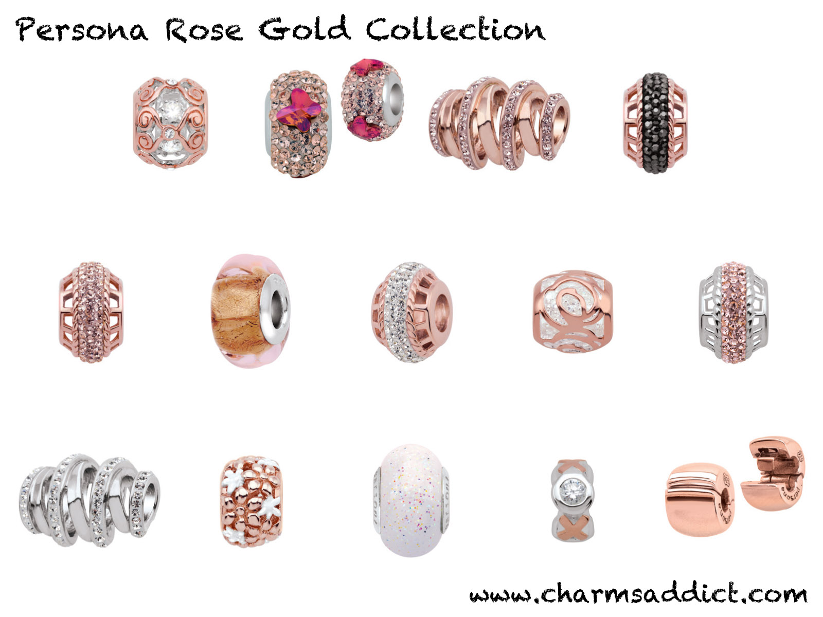 Persona Rose Gold Collection Debut