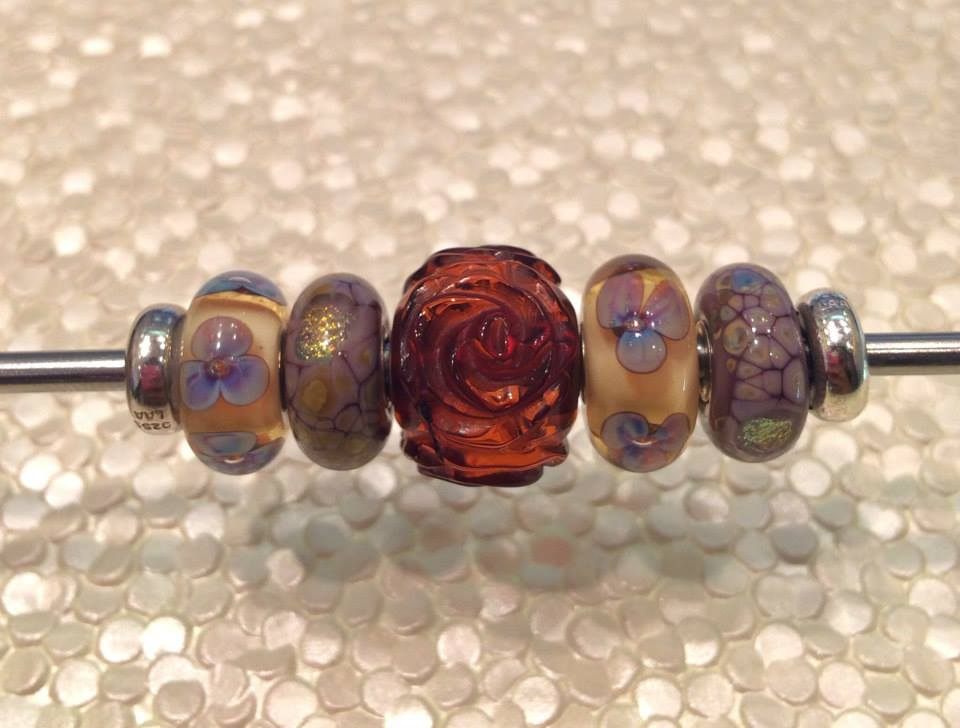 Trollbeads Giant Carved Amber Arrive in US