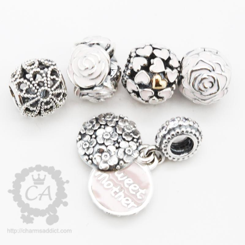 pandora s day 2014 roses charms addict