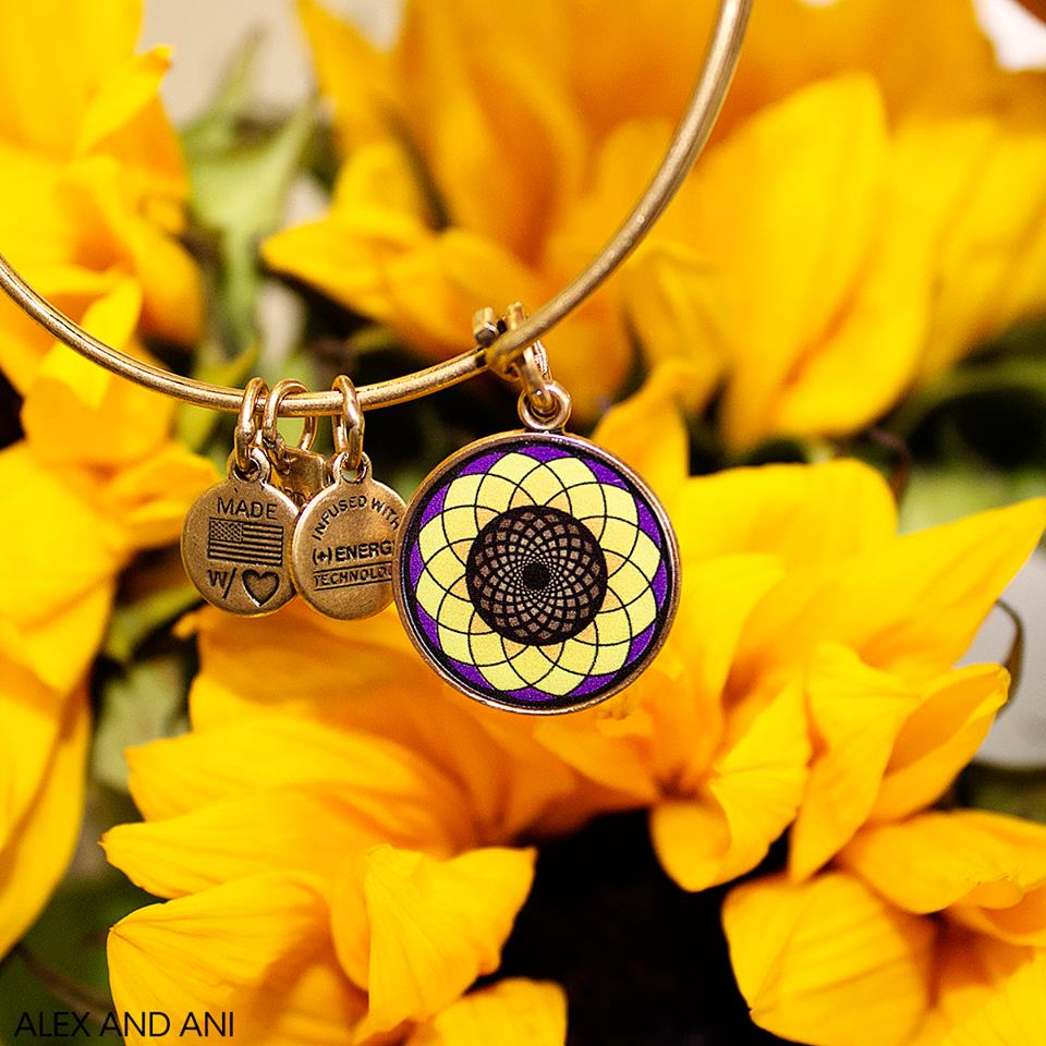 Alex and Ani – Sunflower (Charity by Design)