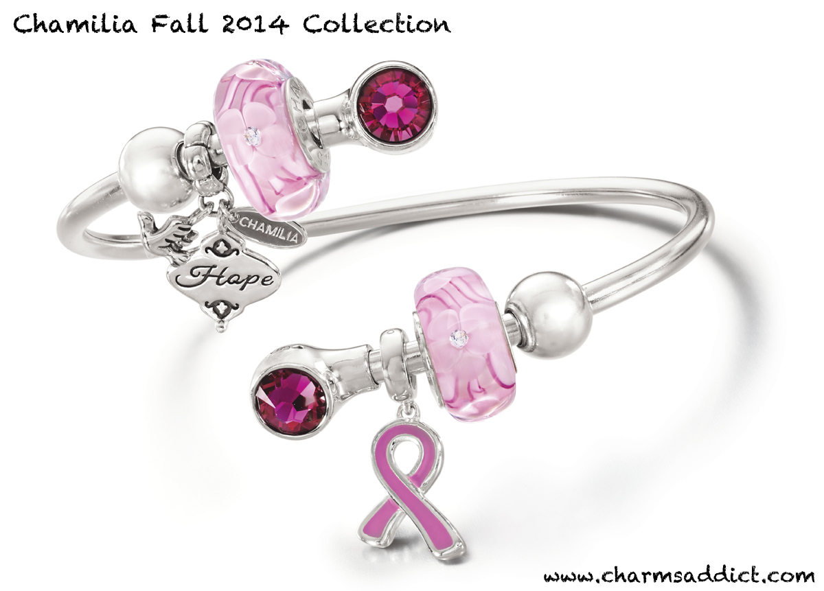 Chamilia Breast Cancer Awareness 2014 Charms