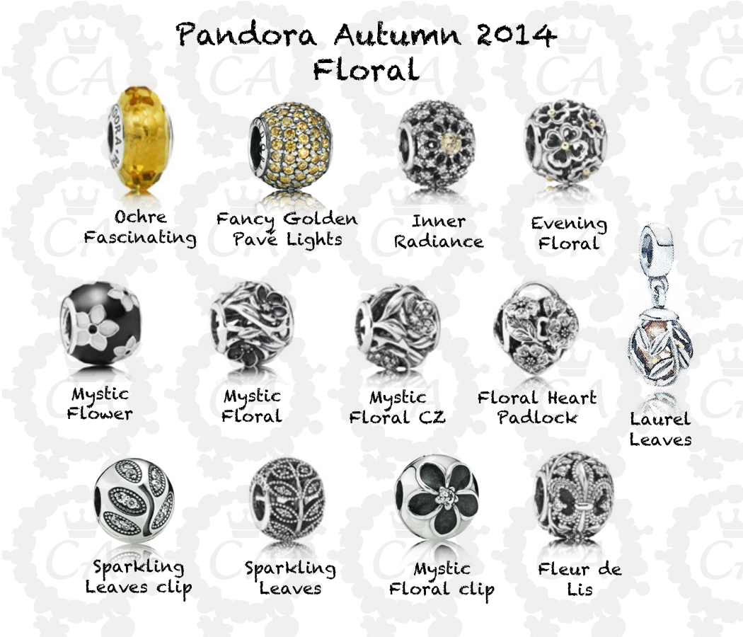 9b7ad4e22 Pandora Autumn 2014 Complete Preview | Charms Addict
