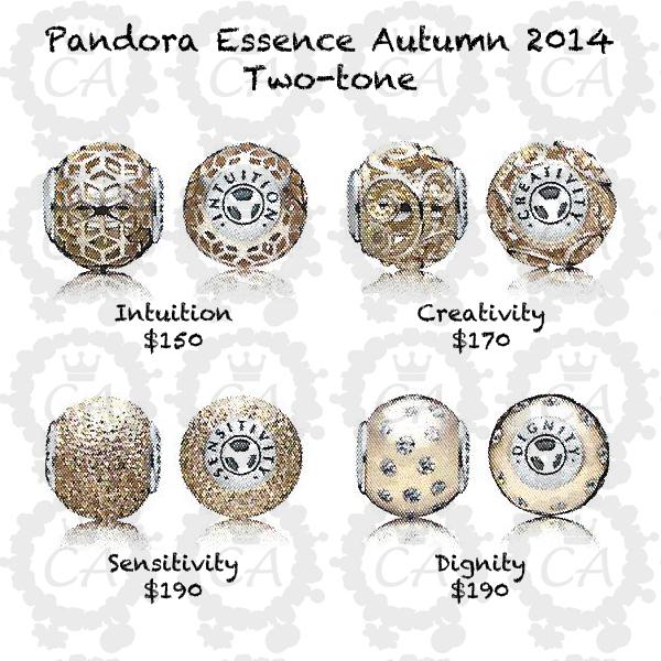 charms pandora essence