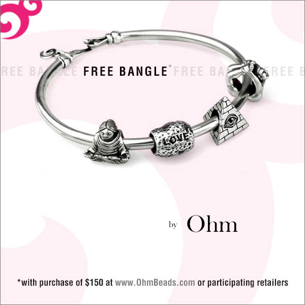 Ohm Beads Bangle Release and Promotion