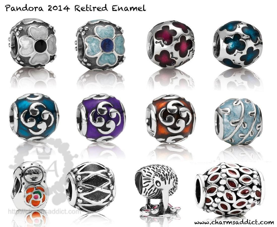 Pandora 2014 Second Retirement Charms Addict