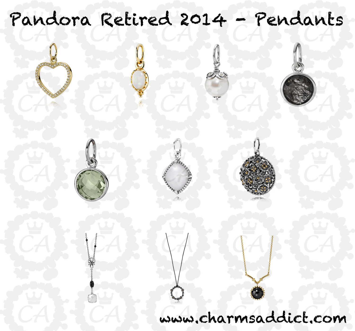 Pandora jewelry second retirement 2014 charms addict pandora retirement 2014 pendants aloadofball Image collections