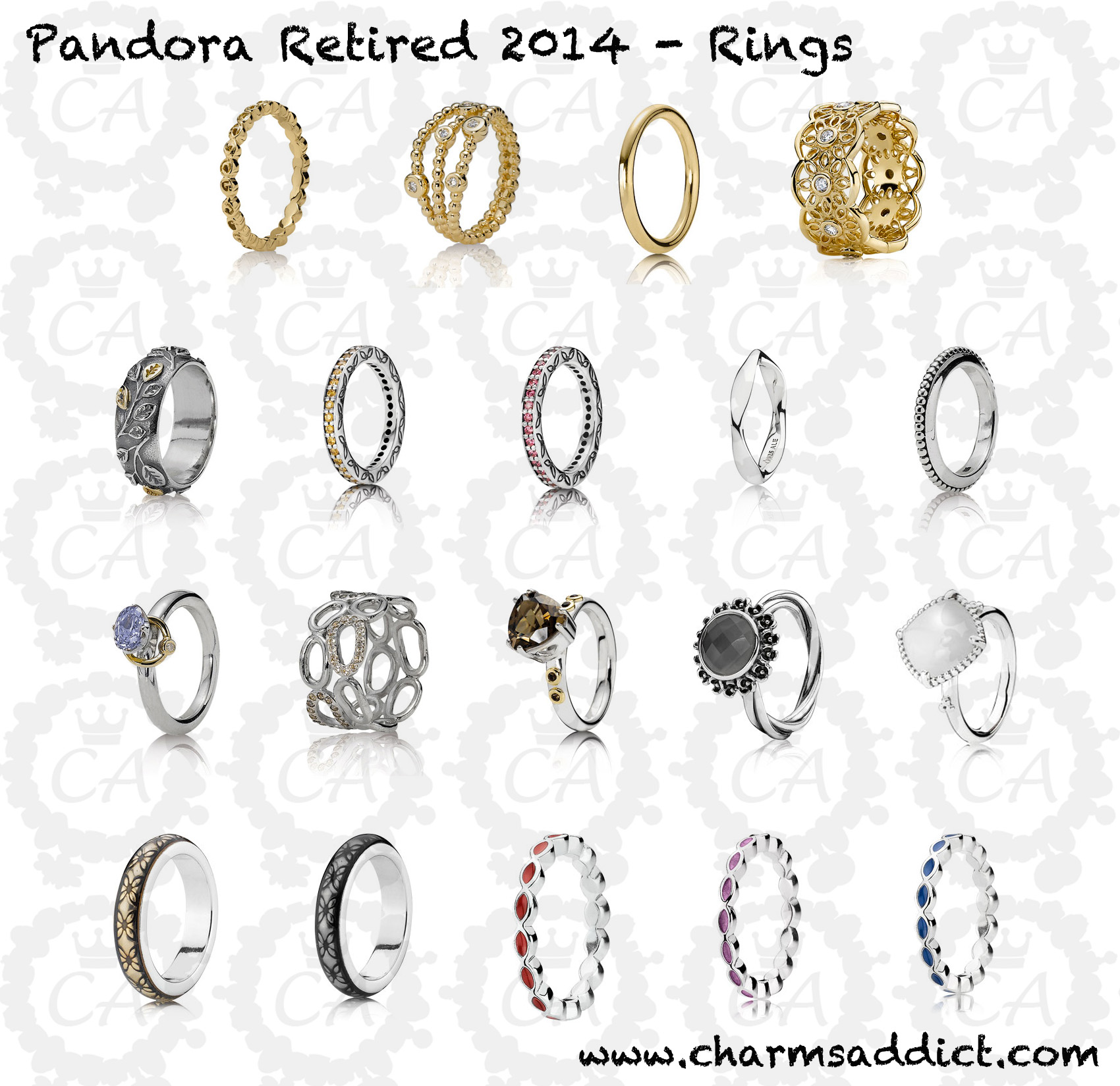 Pandora Jewelry Second Retirement 2014 Charms Addict