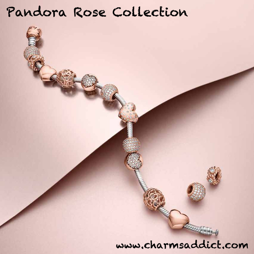 Pandora Rose Collection Charms Addict