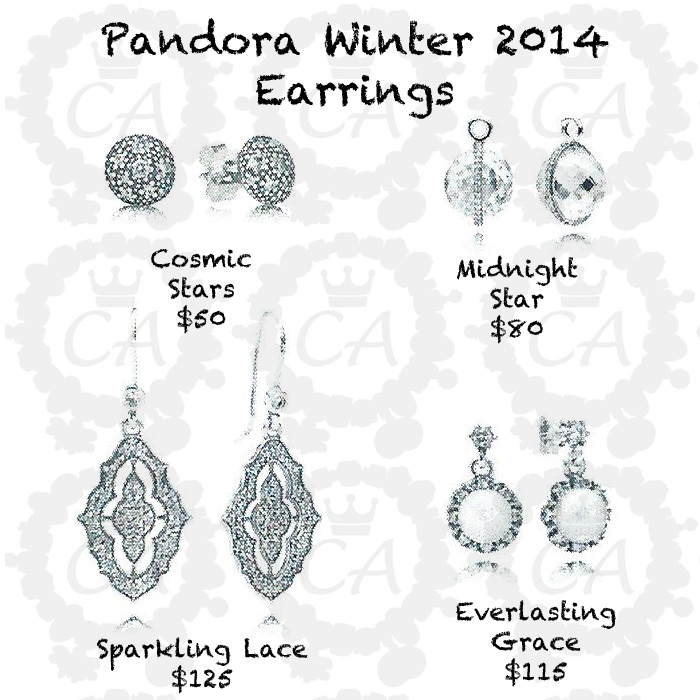 Pandora Earrings Price