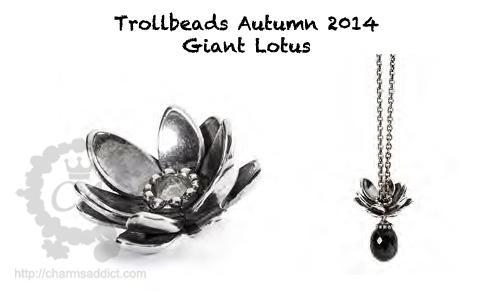 Значение бусин-символов Trollbeads Trollbeads-autumn-2014-giant-lotus-pendant
