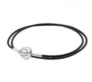 pandora-double-wrap-black-fabric-string-bracelet