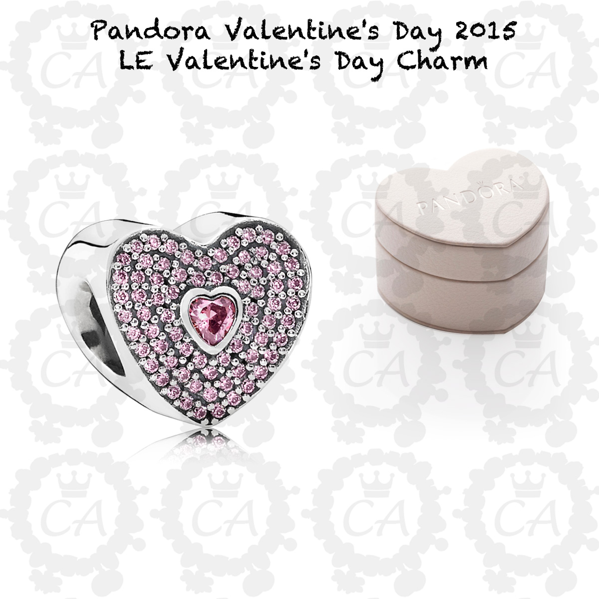Valentines Day Pandora Charms