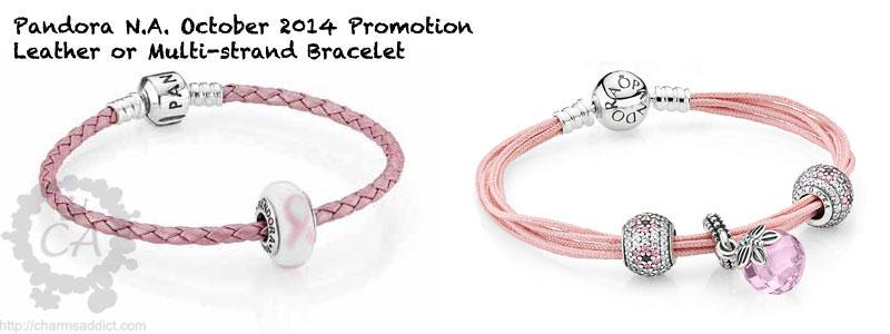 ebfa5a6eb88 ... buy pandora pink leather bracelet with charms 969e9 f5ab6