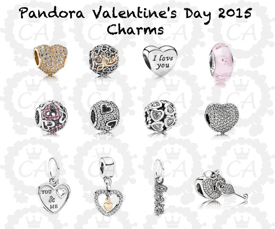 Charms Addict | Pandora Valentine's Day 2015 Sneak Peek