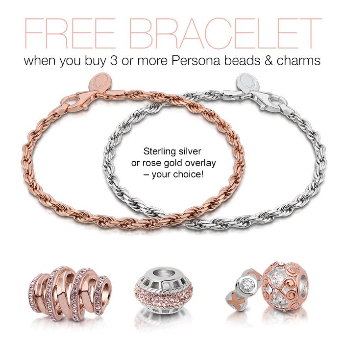 Persona Charm Bracelet: Persona LE Rope Bracelet Promo