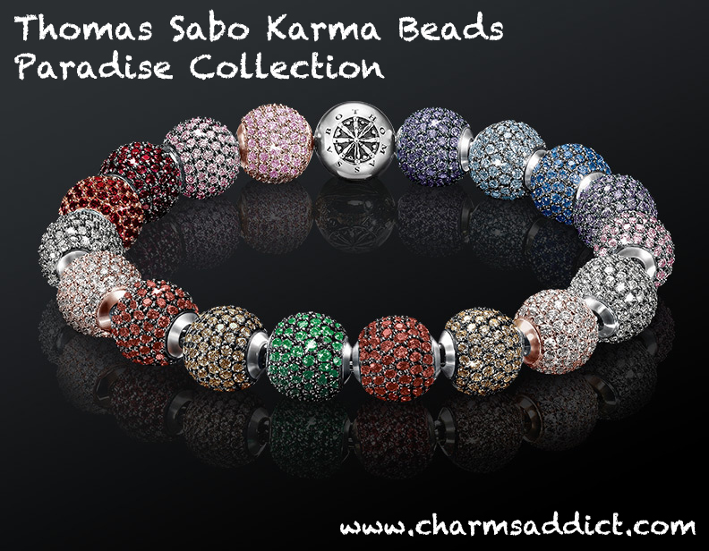 thomas sabo karma beads paradise collection charms addict. Black Bedroom Furniture Sets. Home Design Ideas
