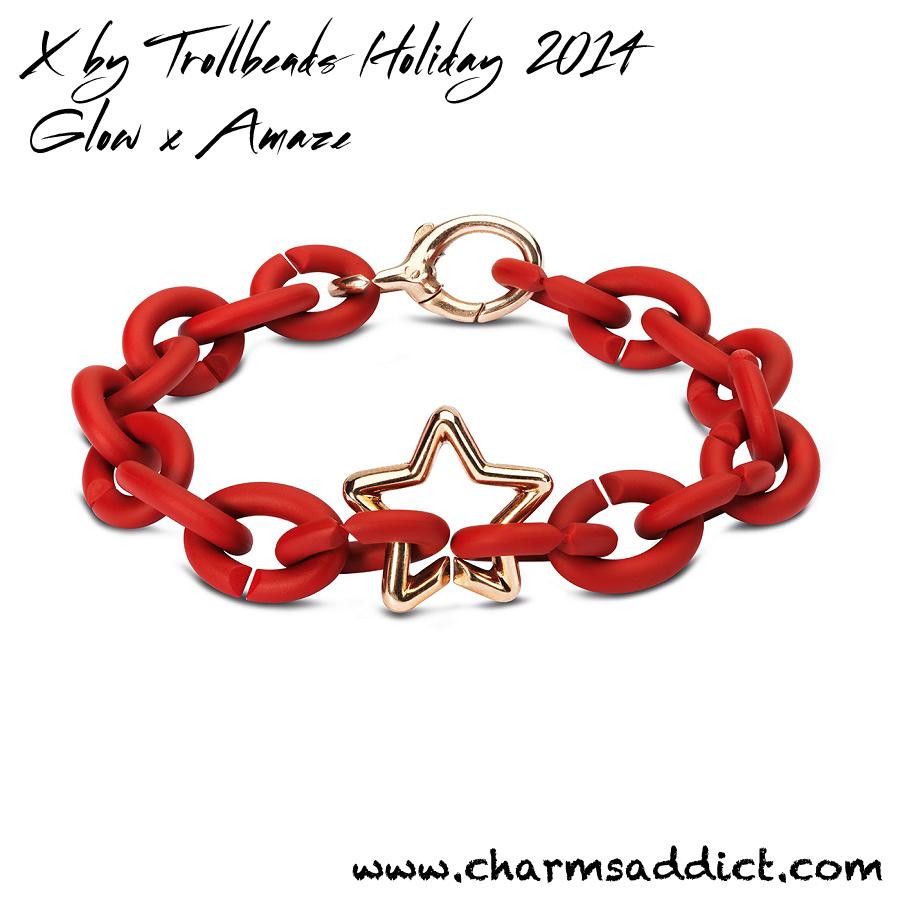 X by Trollbeads Glow X Amaze (Holiday 2014) First Look