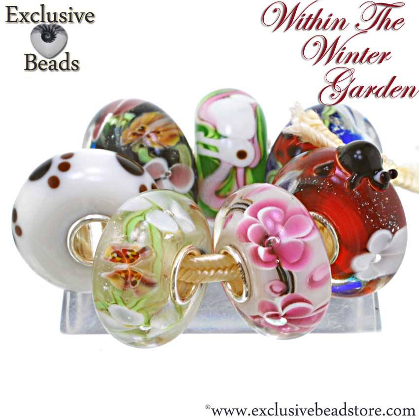 Macrow Exclusive Beads Within the Winter Garden Collection