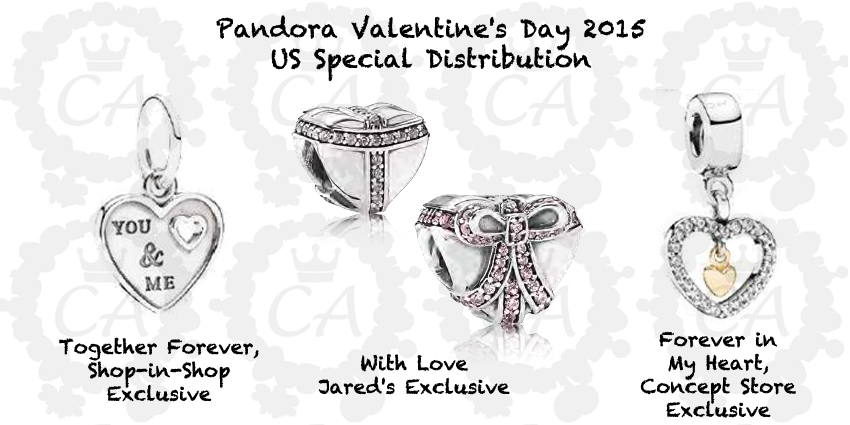 pandora charms valentines day jared
