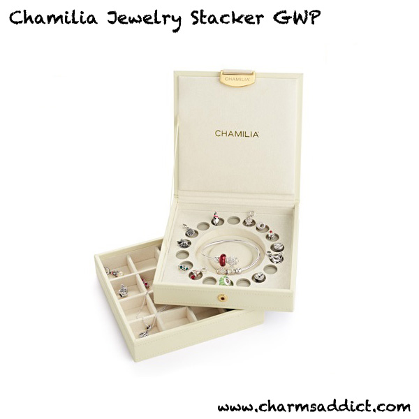 Chamilia Jewelry Stacker Box GWP