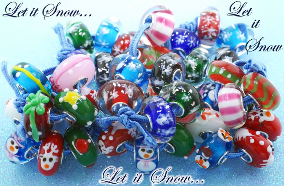 Macrow Exclusive Beads Let it Snow Collection