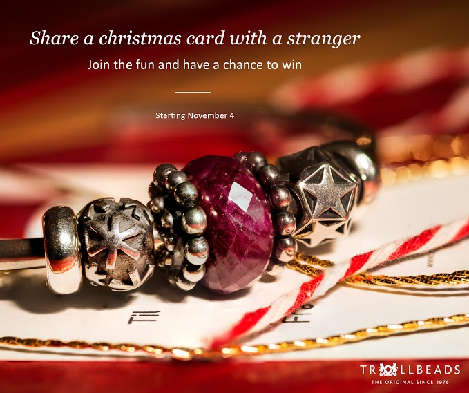 Trollbeads Share a Christmas Card 2014