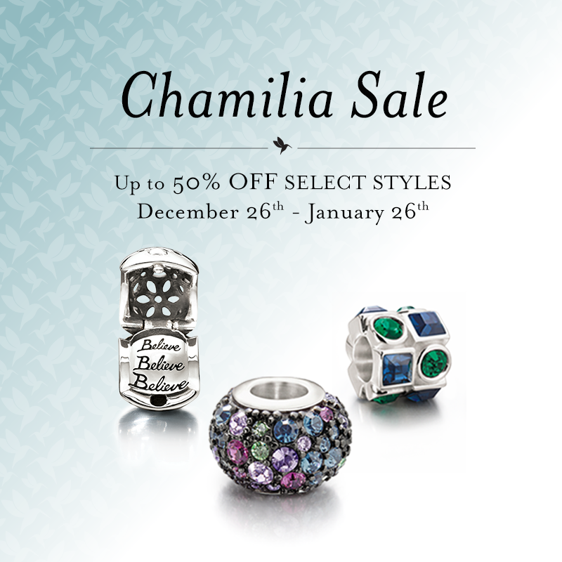 Chamilia Retirement Sale