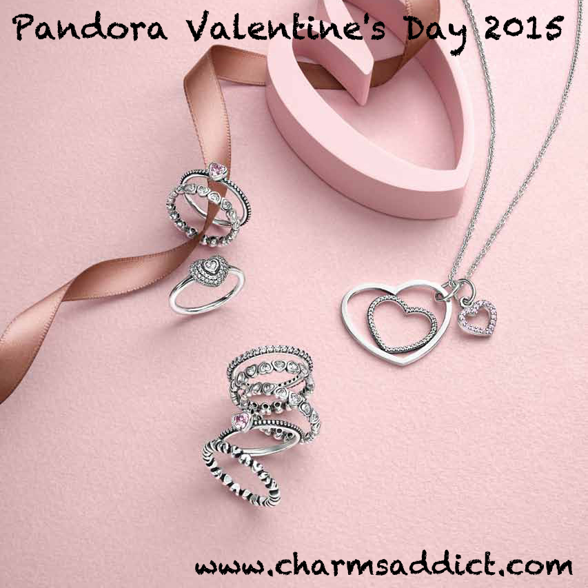 pandora valentine 39 s day 2015 gift sets charms addict