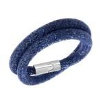 swarovski-stardust-blue-double-silver-bracelet