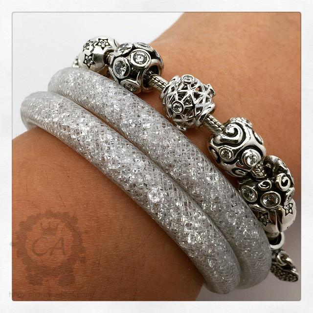 Swarovski Charm Bracelet: Swarovski Stardust Bracelets