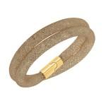 swarovski-stardust-greige-double-gold-bracelet