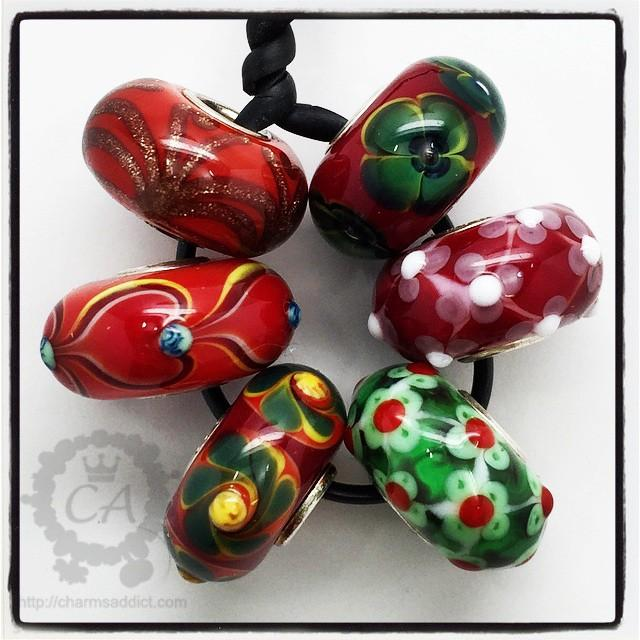 Trollbeads LE Red Christmas Kit