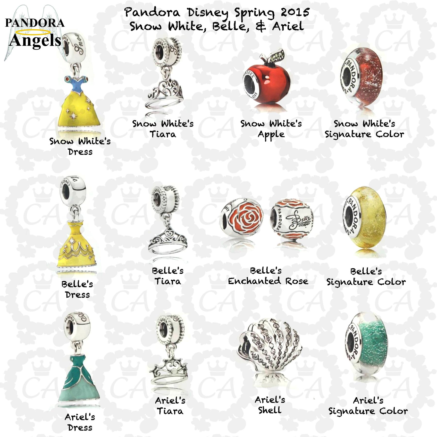 disney pandora bead collection