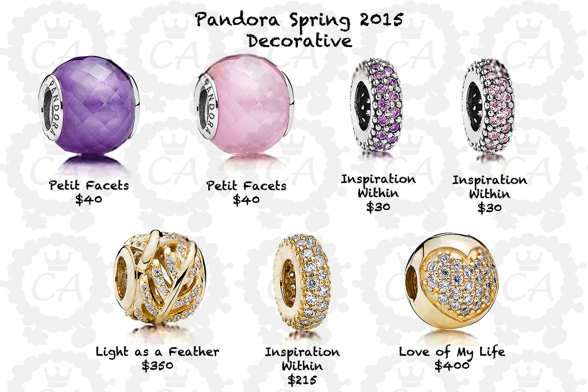 Pandora Spring 2015 Comprehensive Preview and Prices | Charms Addict