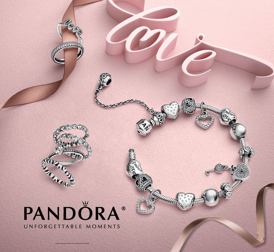 Pandora Jewelry Shop: Pandora Valentine's Day 2015 Collection Debuts