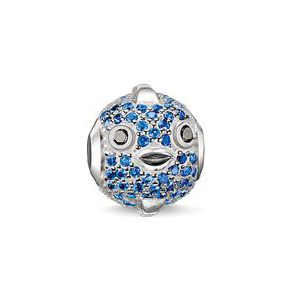 Thomas sabo karma beads springsummer 2015 release charms addict pufferfish blue aloadofball Images