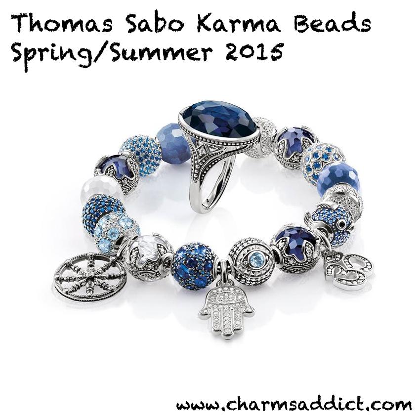 Thomas sabo karma beads springsummer 2015 release charms addict thomas sabo spring summer 2015 cover2 aloadofball Images