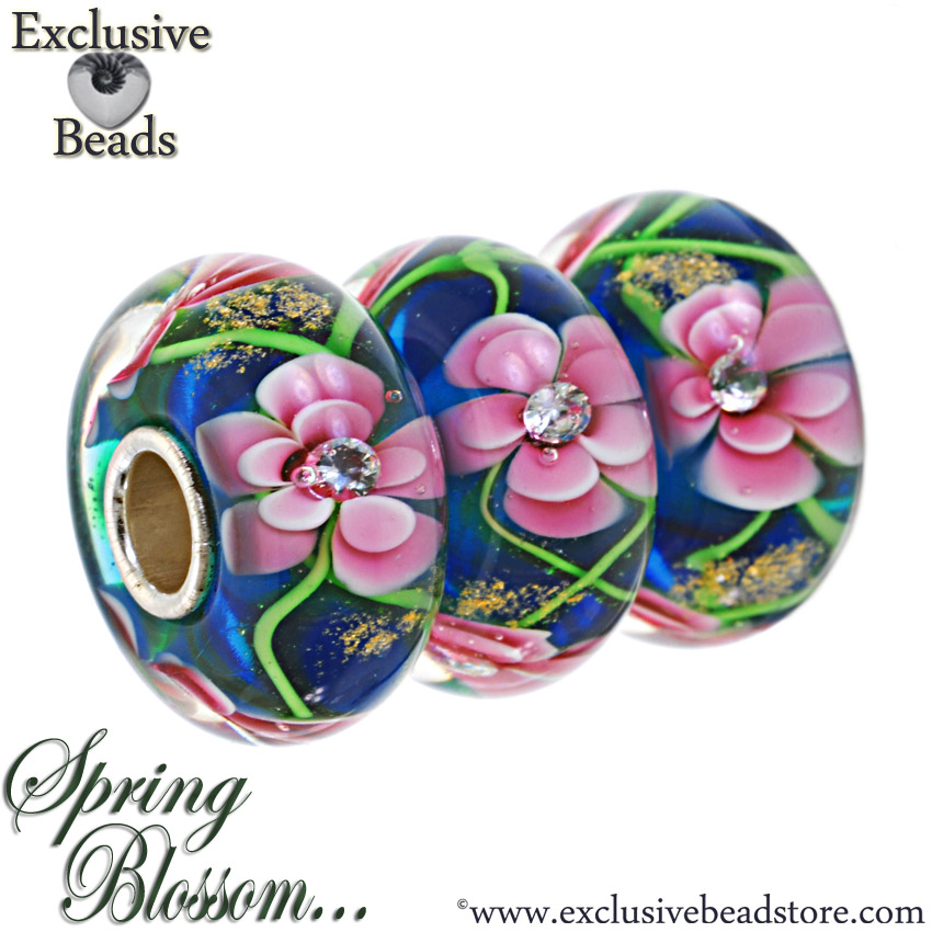 Macrow Exclusive Beads Spring Blossom Collection
