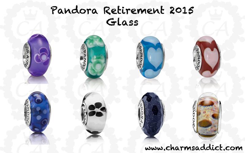 discontinued pandora murano charms