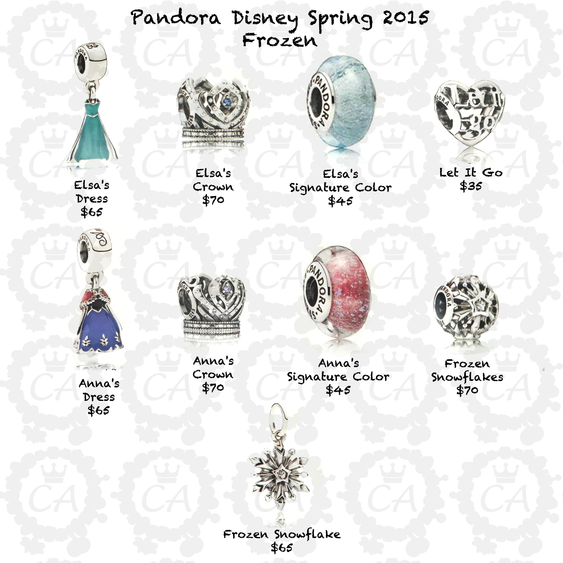 pandora disney 2015 prices charms addict