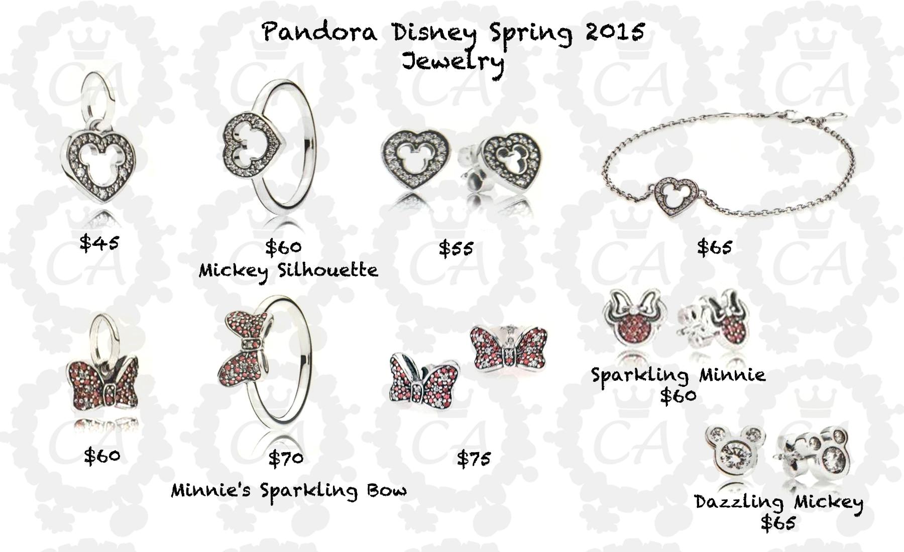 pandora disney park exclusive charms 2015